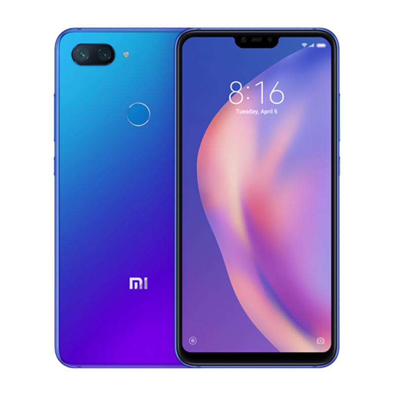 Mi 8 Lite 4/64 GB blue 1